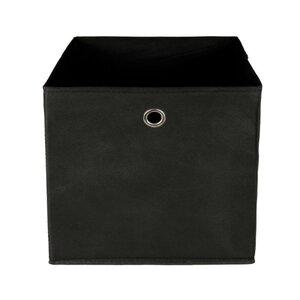 Faltbare Aufbewahrungsbox/Faltbox, ca. 32 x 32 x 32 cm, Kunststoff, schwarz