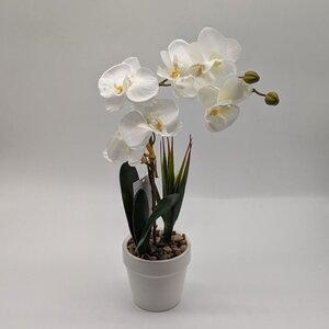 Orchidee im Topf Kunstblume