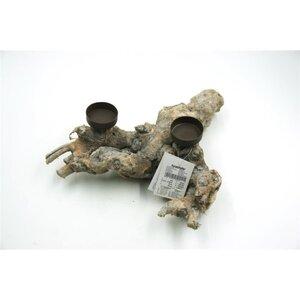 """Teelichthalter """"Holzstamm"""", natur, ca. 33 x 17 x 22 cm"""