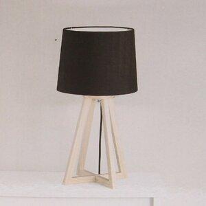 """Tischlampe """"Kopenhagen"""" Deko Lampe Design Tischleuchte Nachttischlampe schwarz"""