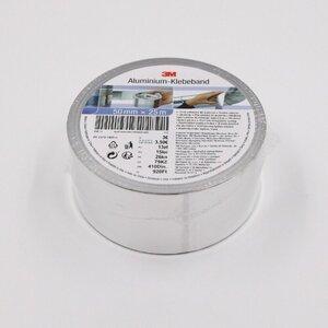 3M Aluminiumband / Aluband / Isolierband/ Klebeband, ca. 25 m x 50 mm, silber