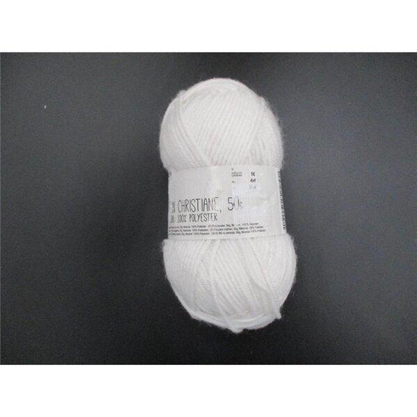 Favorita Strickgarn, 90 m, Polyester, Weiß
