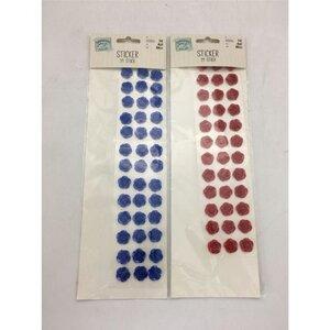Rosen Sticker, 39er-Pack, verschiedene Farben