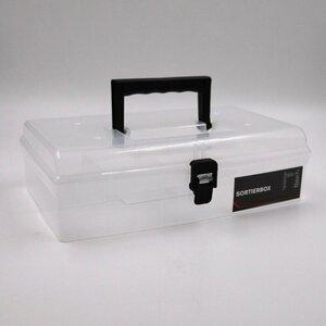 Sortierbox transparent Sortierkasten Kleinteilemagazin Schraubenbox 5 Fächer