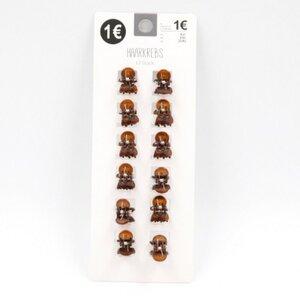 12er-Pack Haarkrebse/Haarklammern/Haarkrallen, Kunststoff
