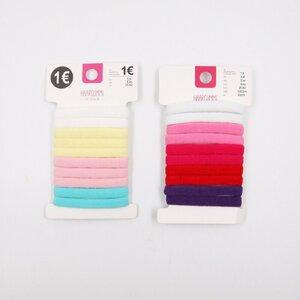 Haargummi, 10er-Pack, verschiedene Farben
