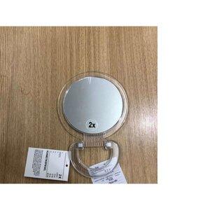 Kosmetikspiegel, 2 Seiten, schwenkbarer Fuß, Ø 15 cm