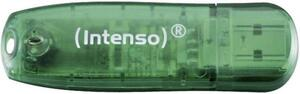 Intenso Rainbow Line USB-Stick 8GB Grün 3502460 USB 2.0