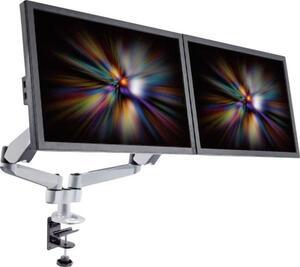 SpeaKa Professional SP-1624800 SuperFlex 2fach Monitor-Tischhalterung 25,4 cm (10') - 68,6 cm (27') Höhenverstellbar, Neigbar, Schwenkbar, Rotierbar