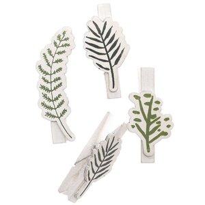Ohhh! Lovely! Dekoklammern Blätter Mix 4 Stück