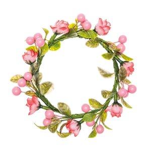 Ohhh! Lovely! Kranz Rosen & Beeren rosa-grün 9cm