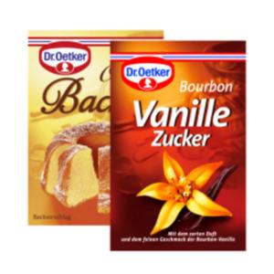 Dr. Oetker Original Vanillin-Zucker oder Bourbon-Vanillezucker