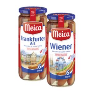 Meica Wiener, Frankfurter oder Trueman´s Hot Dog Würstchen