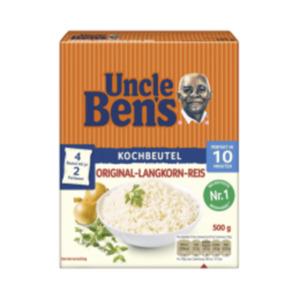 Uncle Ben's Reis lose oder im Kochbeutel