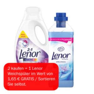 Lenor Waschmittel Pulver, flüssig oder Pods