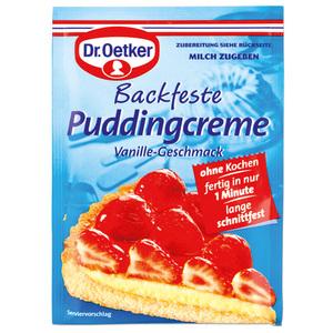 Dr. Oetker Backfeste Puddingcreme