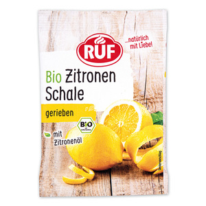 Ruf Bio-Zitronen Schale