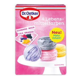 Dr. Oetker 4 Lebensmittelfarben