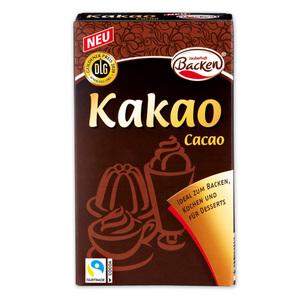 Zauberhaft Backen Kakao