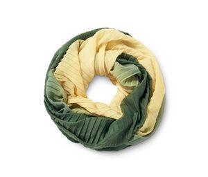 Plissierter Loop-Schal