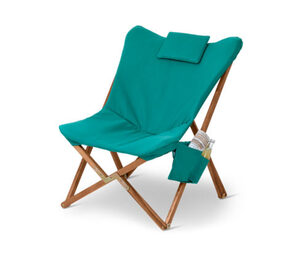 Outdoor-Loungechair-Relaxsessel, petrol