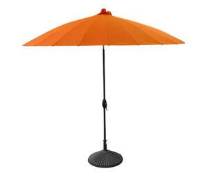 LECO-Aluminium-Sonnenschirm »Shanghai«, Ø ca. 270 cm, orange