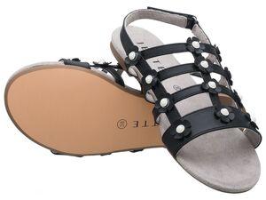 JETTE Damen Sandalen, schwarz