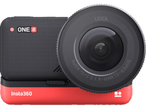 INSTA360 ONE R 1-Inch Edition Actioncam 4K, Full HD, WLAN, Touchscreen