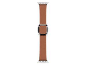 Apple Watch Lederarmband, 40 mm small, braun