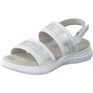 Jana comfort Sandale Damen silber