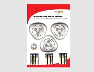 Mini-LED-Licht 3er