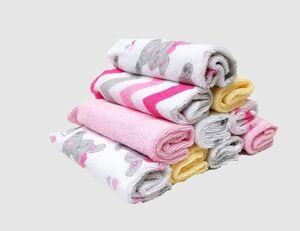 Baby Waschtücher rose