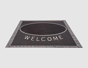 Fußmatte Scraper Welcome