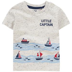 Baby T-Shirt mit großem Print