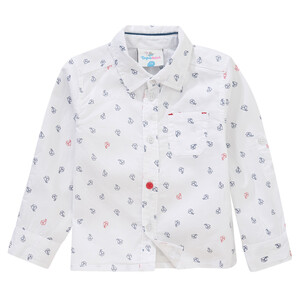 Baby Hemd mit Segelboot-Motiven