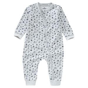 Baby Schlafanzug mit Reißverschluss