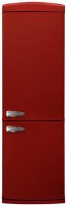 Kühl-Gefrier-Kombination in Rot 'SHARP' A+++