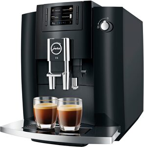 JURA Kaffeevollautomat 15377 E6 Piano Black (EB)