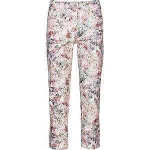 Zerres Hose, 7/8-Länge, floraler Print, Regular Fit, für Damen