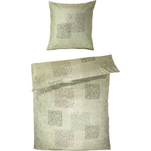 Kaeppel Satin-Bettwäsche, feinfädige Qualität, Seidenglanz