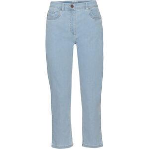 Zerres Jeans, 3/4-Länge, uni, hoher Bund, für Damen