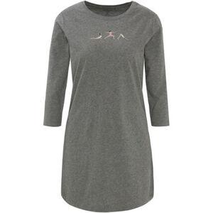 MANGUUN Sleepshirt, 3/4-Arm, Print, Baumwolle, für Damen