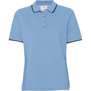 Adagio Poloshirt, unifarben, Knöpfe, für Damen