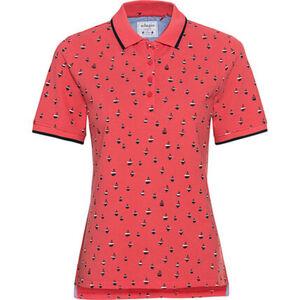 Adagio Poloshirt, Punkte, Knöpfe, für Damen