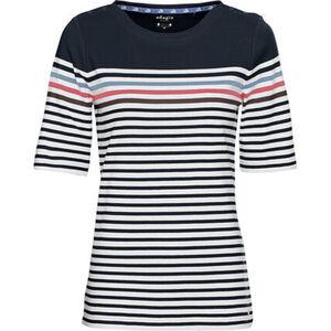 Adagio Shirt, 1/2-Arm, Streifen, Rundhals, für Damen