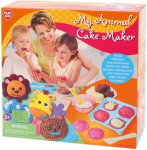 Plätzchen backen mit Tierförmchen MY ANIMAL CAKE MAKER