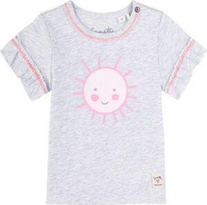 Baby T-Shirt , Organic Cotton grau Gr. 92 Mädchen Kleinkinder