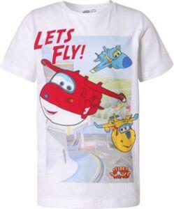 Super Wings T-Shirt  weiß Gr. 92/98 Jungen Kleinkinder