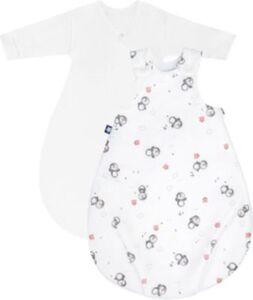 Babyschlafsack Cosy Pinguin 56/62 weiß Modell 1