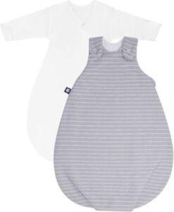 Babyschlafsack Cosy Grey Stripes 74/80 grau